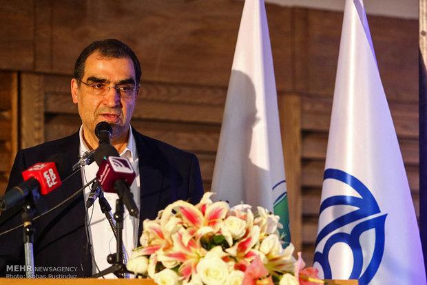 سفر حسن قاضی زاده هاشمی وزیر بهداشت به اصفهان