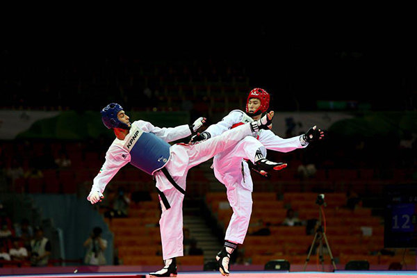 Two Iranian taekwondoka to vie at 1st WTF Grand Slam
