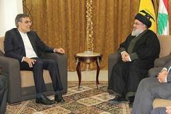 Deputy FM meets with Hezbollah SG Nasrallah