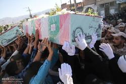 مراسم تشييع رفات 150 شهيدا من شهداء الدفاع المقدس في طهران