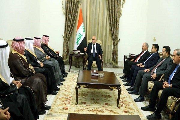 حیدر العبادی و وزیر تجارت عربستان