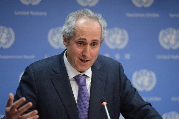 UN calls for maximum restraint in Persian Gulf region