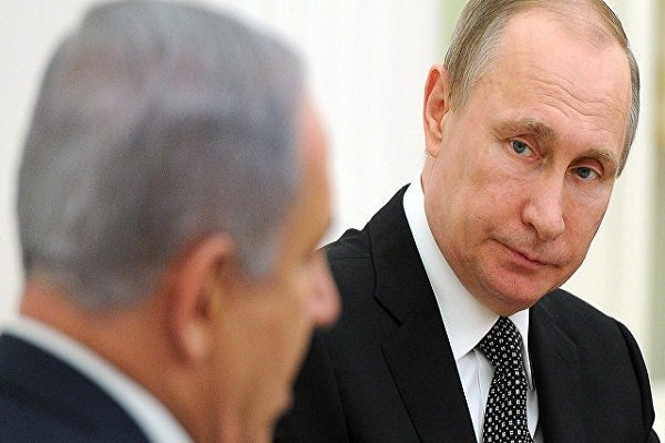 تماس تلفنی پوتین و نتانیاهو پیرامون سوریه