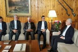 Cabiri Ensari Lübnan eski Cumhurbaşkanı Franjiy ile görüştü