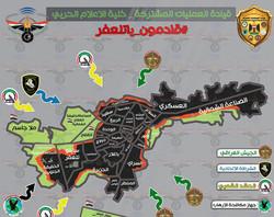 القوات العراقية تتقدم في حي الوحدة وعناصر داعش ينسحبون باتجاه مركز  تلعفر