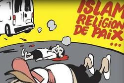 «شارلی ابدو» باز هم به اسلام توهین کرد