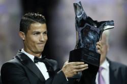 کریستیانو رونالدو بهترین بازیکن فصل اروپا شد