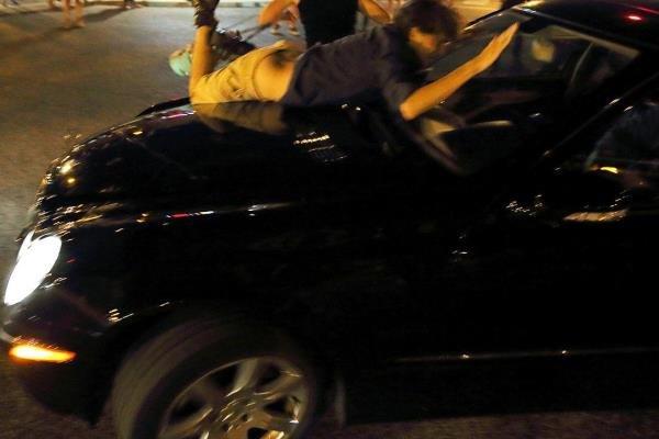 حمله با خودرو