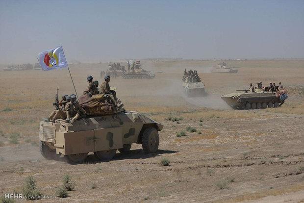 القوات العراقية تطلق عملية عسكرية واسعة باتجاه الحدود السعودية