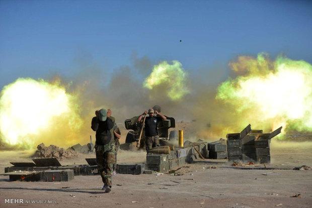 عراقی فورس نے داعش کے میڈیا سینٹر سمیت متعدد ٹھکانوں کو تباہ کردیا