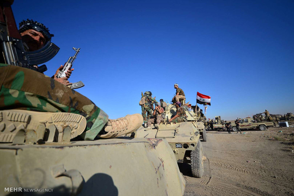 Iraqi forces a step closer to seizing IS stronghold