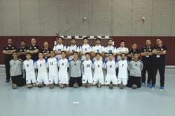 تیم هندبال نوجوانان ایران برابر عمان به پیروزی رسید