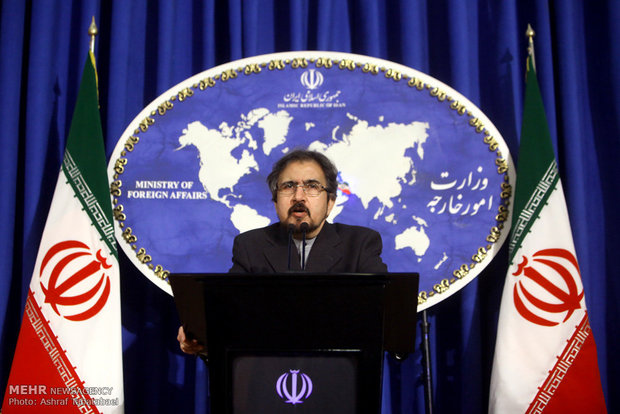 Ghasemi says Japan PM's visit to Iran not on agenda