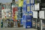 خودروی حامل مشروبات الکی در اسدآباد توقیف شد