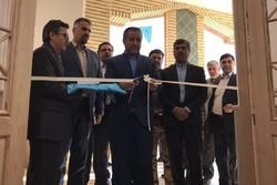 ساختمان ستادی و نمازخانه پارک علم و فناوری استان سمنان افتتاح شد