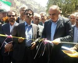 افتتاح یک کیلومتر راه روستایی پاوه