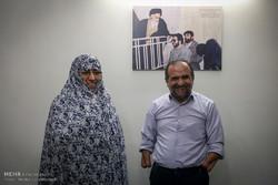 مصاحبه با خانم یزدانی و منزل آقای شاکری