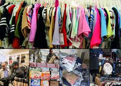 ۲۰۰ هزار تن پوشاک سالانه به کشور وارد یا قاچاق میشود