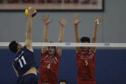 دیدار تیم های والیبال نوجوانان ایران و کره جنوبی