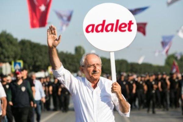 """Kılıçdaroğlu'ndan Erdoğan'a """"Adalet Yürüyüşü"""" yanıtı"""