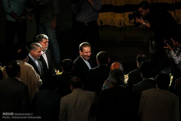 Send-off reception for Iran's culture minister