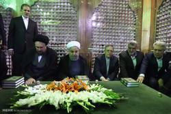 Ruhani: Düşmanların tehditlerinden asla korkmuyoruz