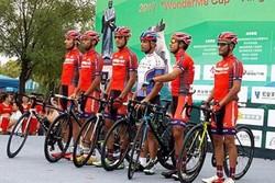İranlı bisikletçiler Çin'de birinci oldu