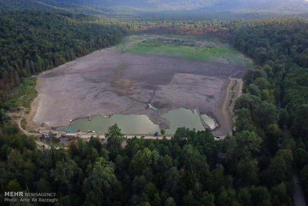 خشک شدن دریاچه الندان