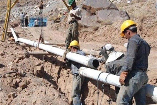 عملیات گازرسانی به چهار روستای بخش چورزق شهرستان طارم آغاز شد