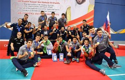 Iran U19 volleyball atop world in latest FIVB ranking