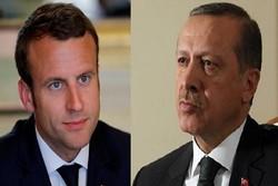 ماکرون اردوغان