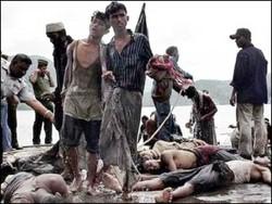 مردم چچن به کشتار مسلمانان میانمار اعتراض کردند