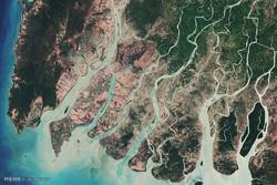 تصاویر ماهواره ای از زمین در ماه گذشته میلادی