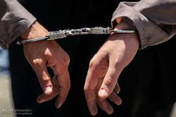 دستبند - دستگیری - متهم