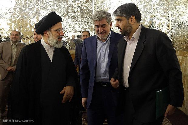 دیدار مدیران خبرگزاری مهر با تولیت آستان قدس رضوی