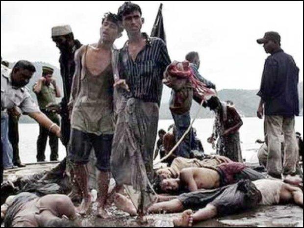 18 bin Müslüman Myanmar'dan kaçmak zorunda kaldı