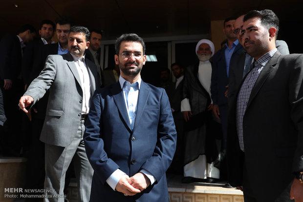 وزیر ارتباطات به استانهای مرزی سفر می کند
