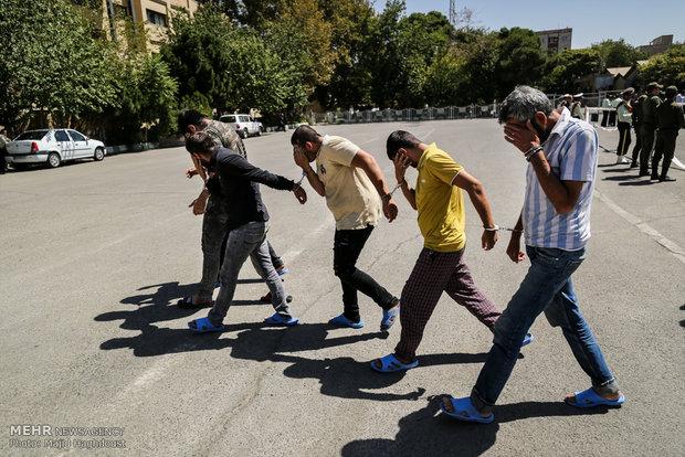 جزییات حمله سارق به مأمور پلیس در تهرانسر
