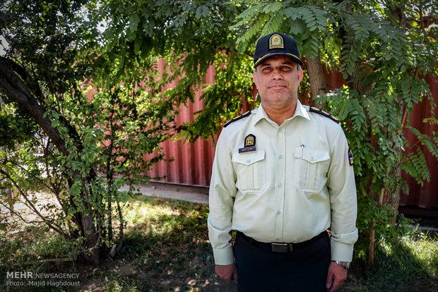 مراد مرادی معاون اجتماعی و رییس اطلاع رسانی پلیس تهران بزرگ