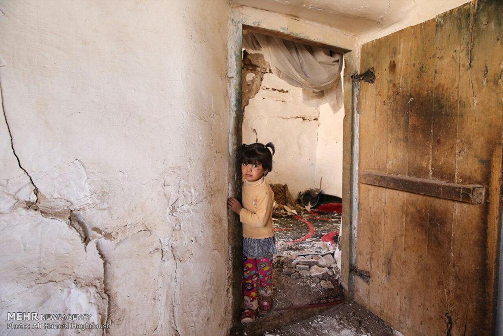 خسارات ز له در شهر شربیان آذربایجان شرقی