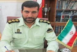 ۲۱ نفر متهم تحت تعقیب در جیرفت دستگیر شدند