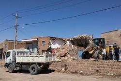 آغاز عملیات آوار بردای ۲۲۴ واحد تخریبی در مناطق زلزله زده شربیان