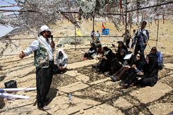 بازدید خبرنگاران از مسیرهای اردوی راهیان نور غرب کشور در کردستان