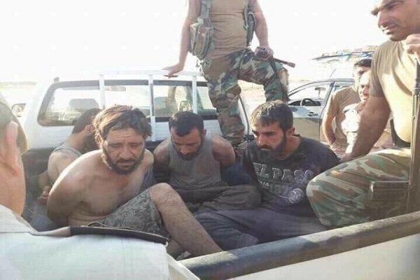 Türkiye vatandaşı DEAŞ militanları Irak'ta teslim oluyor