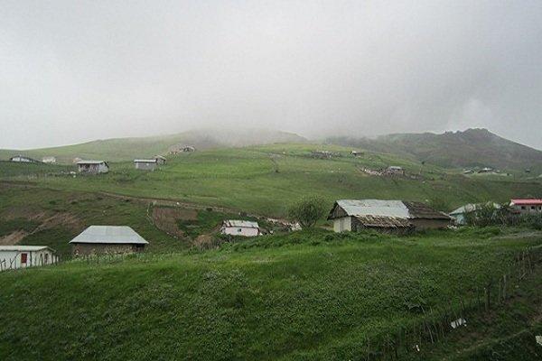 روستای اولسبلنگاه ماسال ، بهشت تجلی یافته در زمین