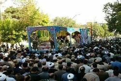دو شهید گمنام در خورموج تشییع و تدفین شدند