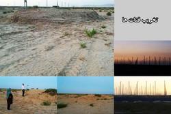 تخریب قنات های روستای حصار گلی ورامین