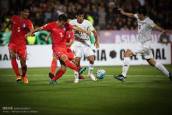 دیدار تیم ملی فوتبال ایران وکره جنوبی