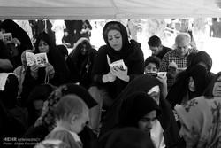 اصفہان میں دعائےعرفہ کے روح پرور مناظر