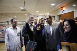 سفر  وزیر بهداشت، درمان و آموزش پزشکی به همدان